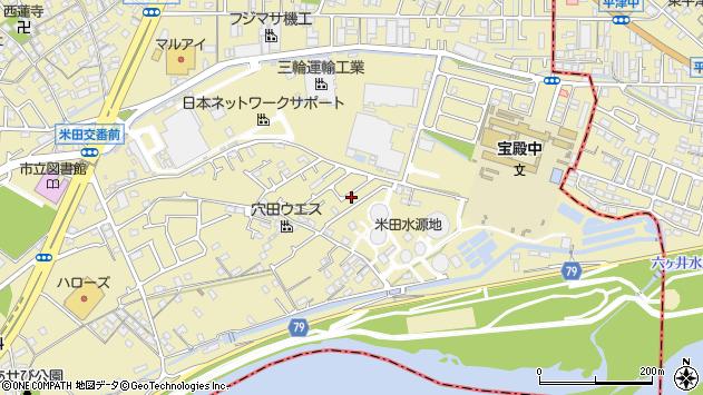 〒676-0801 兵庫県高砂市米田町米田新の地図