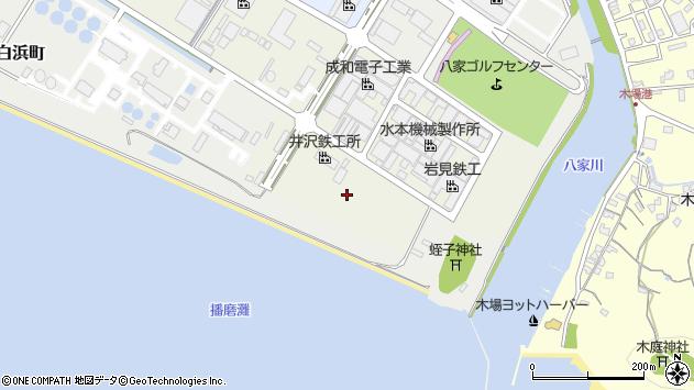 〒672-8022 兵庫県姫路市白浜町宇佐崎南の地図