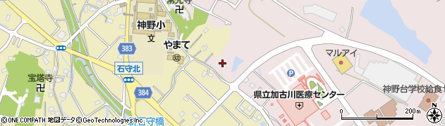 兵庫県加古川市神野町周辺の地図
