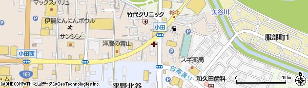 三重県伊賀市平野中川原周辺の地図