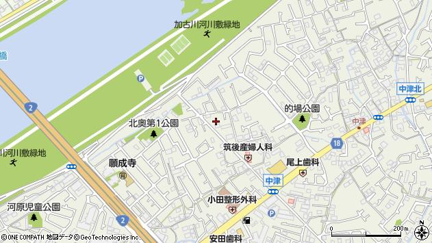 〒675-0068 兵庫県加古川市加古川町中津の地図