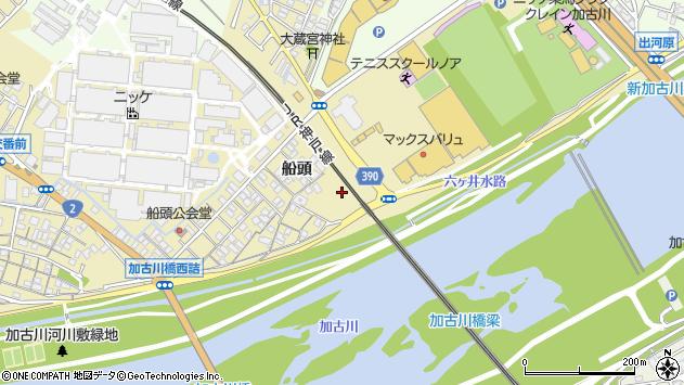 〒675-0053 兵庫県加古川市米田町船頭の地図