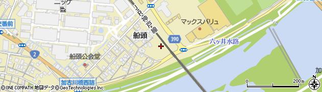 兵庫県加古川市米田町(船頭)周辺の地図