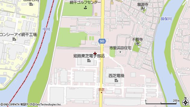 〒671-1242 兵庫県姫路市網干区浜田の地図