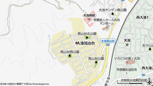 〒651-1206 兵庫県神戸市北区大池見山台の地図