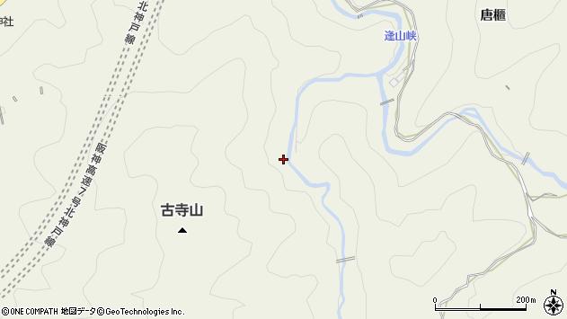 〒651-1331 兵庫県神戸市北区有野町唐櫃の地図
