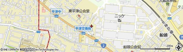 兵庫県加古川市米田町周辺の地図