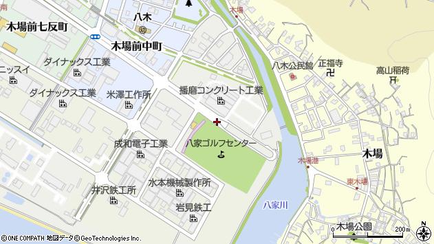 〒672-8017 兵庫県姫路市木場十八反町の地図