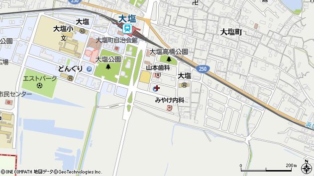〒671-0103 兵庫県姫路市大塩町宮前の地図