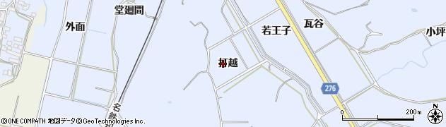 愛知県美浜町(知多郡)奥田(打越)周辺の地図