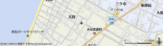 愛知県美浜町(知多郡)野間(中町)周辺の地図