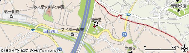 弘誓寺周辺の地図