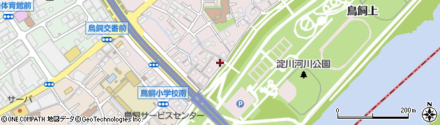 長音寺周辺の地図