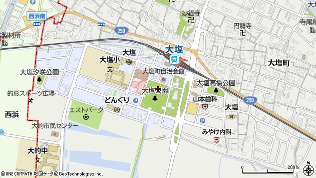 〒671-0102 兵庫県姫路市大塩町汐咲の地図