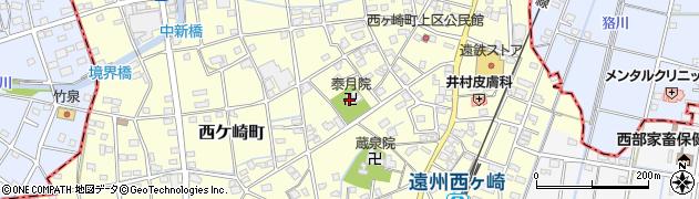 泰月院周辺の地図