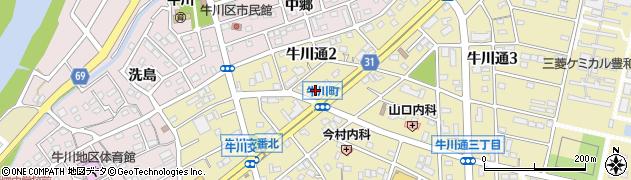 おかずみせ周辺の地図