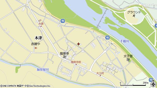 〒678-0165 兵庫県赤穂市木津の地図