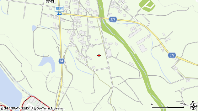 〒675-1202 兵庫県加古川市八幡町野村の地図