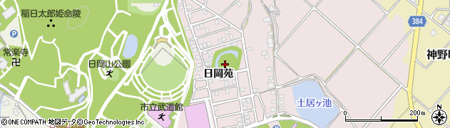 兵庫県加古川市神野町(日岡苑)周辺の地図