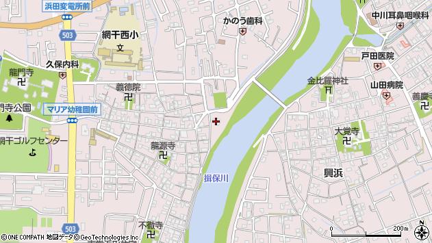 〒671-1241 兵庫県姫路市網干区興浜の地図