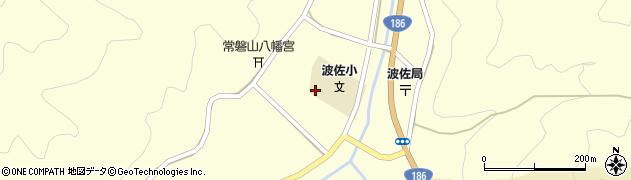 島根県浜田市金城町波佐周辺の地図
