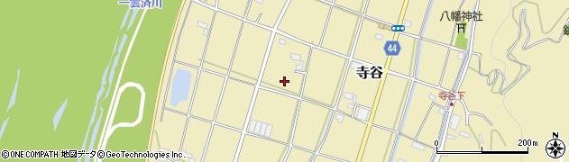 静岡県磐田市寺谷周辺の地図