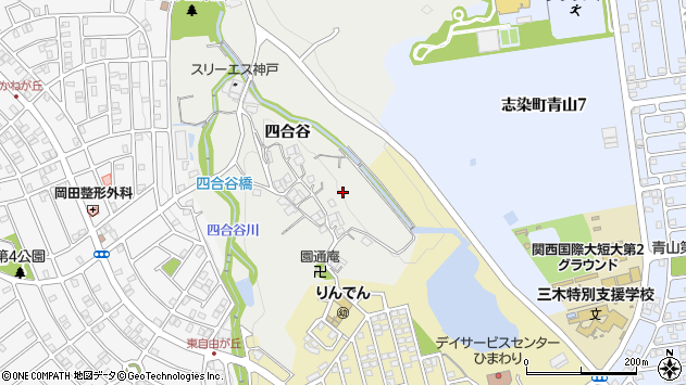 〒673-0506 兵庫県三木市志染町四合谷の地図