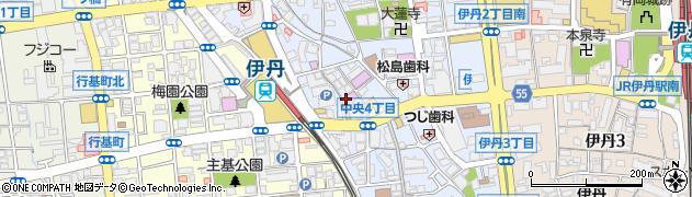 パチンコキコーナ 伊丹店周辺の地図