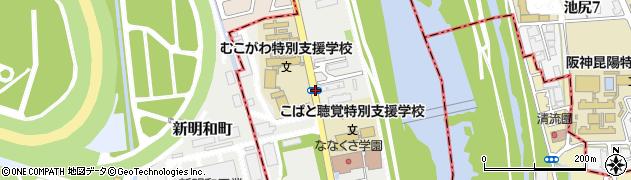 兵庫県西宮市田近野町周辺の地図