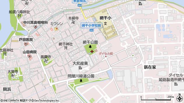 〒671-1234 兵庫県姫路市網干区新在家の地図