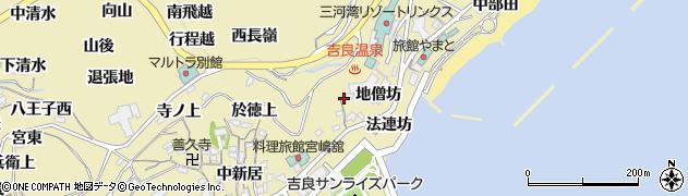 愛知県西尾市吉良町宮崎(山ノ井)周辺の地図