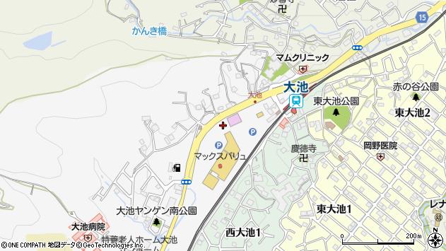 〒651-1242 兵庫県神戸市北区山田町上谷上の地図