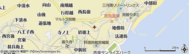 愛知県西尾市吉良町宮崎(由兵衛上)周辺の地図