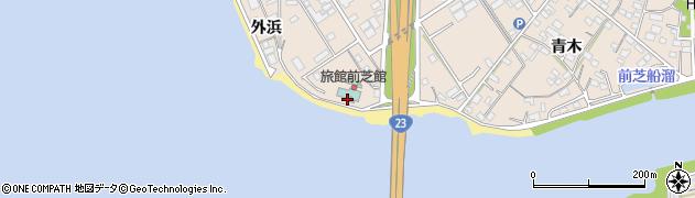 前芝館周辺の地図