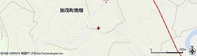 京都府木津川市加茂町奥畑(城土)周辺の地図