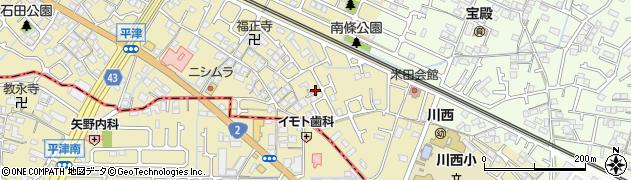 兵庫県加古川市米田町(平津)周辺の地図