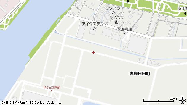 〒672-8033 兵庫県姫路市飾磨区妻鹿日田町の地図