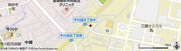 リヨン・ド・リヨン周辺の地図