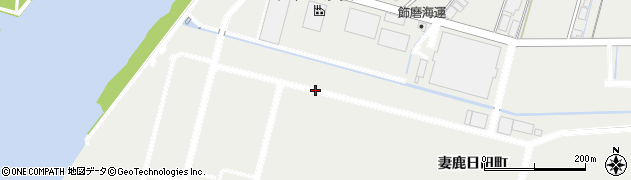 兵庫県姫路市飾磨区(妻鹿日田町)周辺の地図