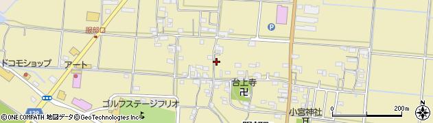 三重県伊賀市服部町周辺の地図
