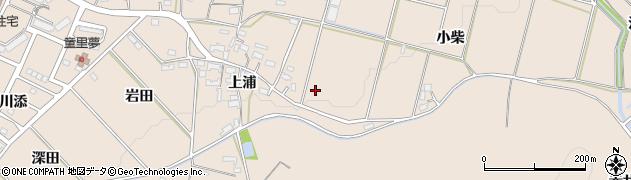 愛知県豊橋市石巻町(小柴)周辺の地図