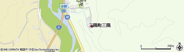 島根県浜田市三隅町三隅周辺の地図