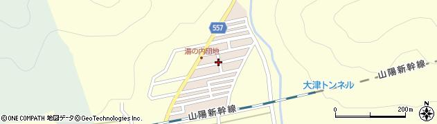 兵庫県赤穂市湯の内周辺の地図