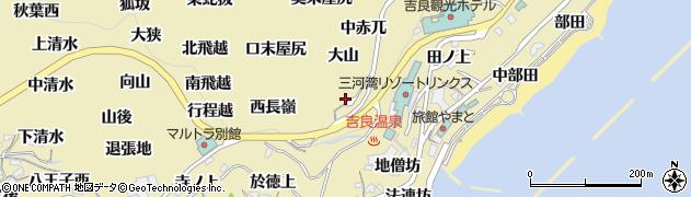 愛知県西尾市吉良町宮崎(西赤兀)周辺の地図