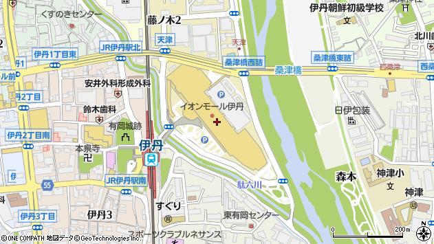 〒664-0847 兵庫県伊丹市藤ノ木の地図