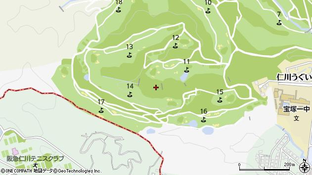 〒665-0054 兵庫県宝塚市鹿塩の地図
