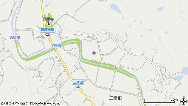 〒673-0515 兵庫県三木市志染町三津田の地図
