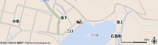 愛知県豊橋市石巻町(平石)周辺の地図