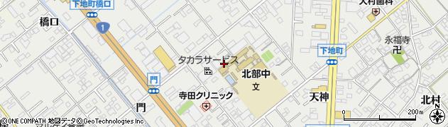 愛知県豊橋市下地町(長池)周辺の地図