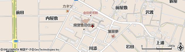 愛知県豊橋市石巻町(野田)周辺の地図